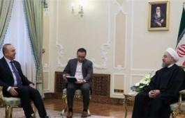 الامن الاقليمي يجب ان يكون اساس التعاون بين ايران وتركيا