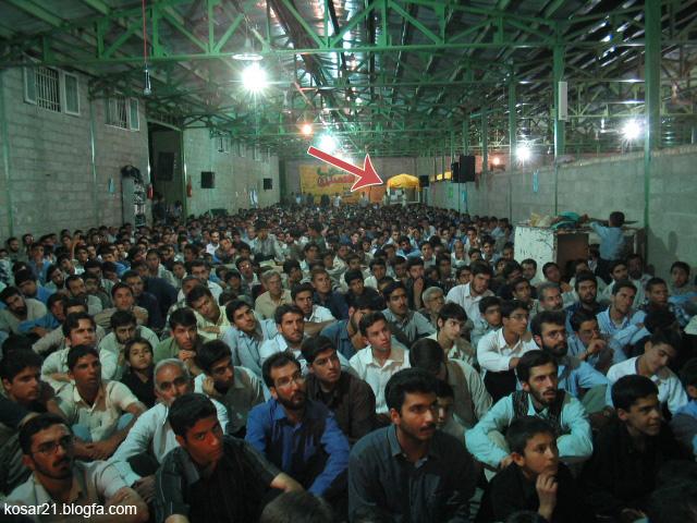 انفجار کانون رهپویان شیراز