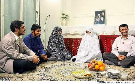 خانواده احمدی نژاد