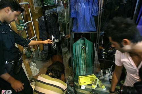 دوربین در اتاق پرو ایران