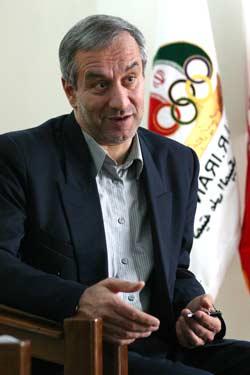 علی كفاشیان،دبیر كل كمیته ملی المپیك