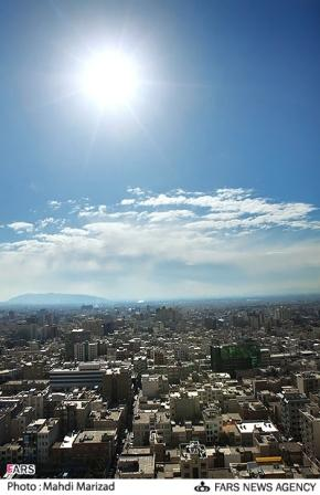 عکسهای دیدنی: تهران پس از باران