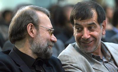 آخرین خنده های باهنر و لاریجانی قبل از حماسه 22خرداد