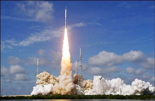 تصاویر: پرتاب آزمایشی راکت نسل جدید ناسا