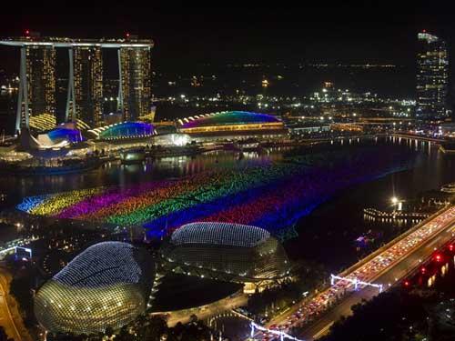 تصاویری از جشن سال نوی میلادی در جهان