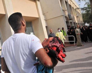 وحشی گری سعودی ها در بحرین
