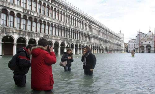 عکس های ونیز شهری زیبا بر روی آب
