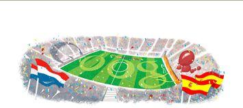 لوگوی گوگل به مناسبت فینال جام جهانی