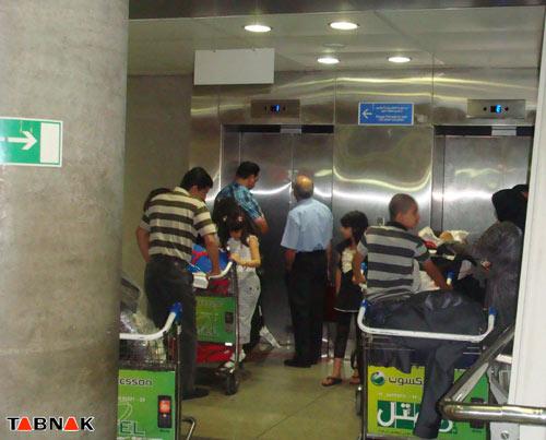 تصاویر  فرودگاهی که آبروی ایران را میبرد