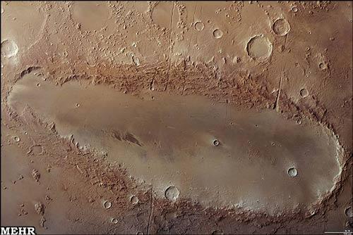 تصویر ردپای چکمه بر مریخ
