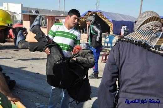 تصاویر: انفجار در مسیر زائران حسینی(ع)