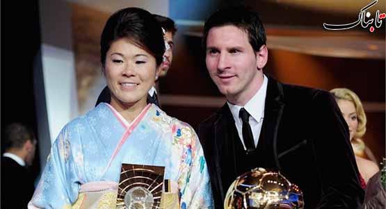 توپ طلای فیفا برای سومین سال به مسی رسید