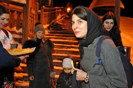 عکس لیلا حاتمی داور جشنواره کاستندورف
