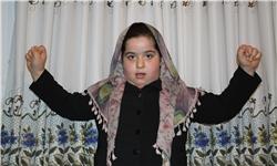 قدرت عجیب یک دختر هشت ساله مازندرانی +عکس