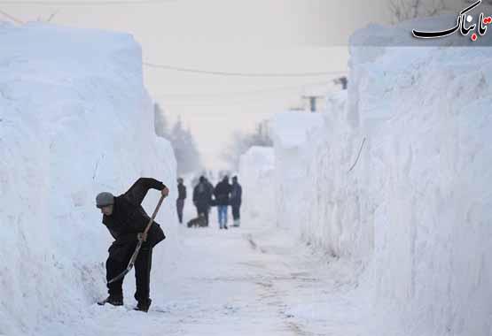 بارش 4 متر برف در رومانی