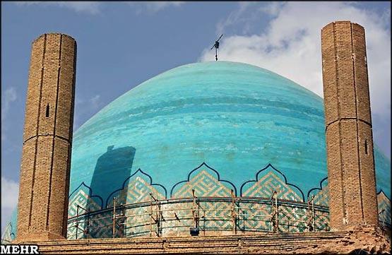 ع سلطانیه راضیه گنبد سلطانیه نماد اقتدار و برتری ایرانیان  عکس - سایت خبری تحلیلی تابناك