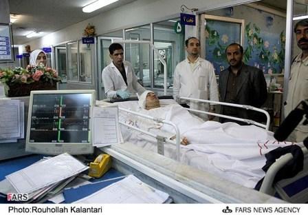 عکس ماشین علی دایی بعد از تصادف