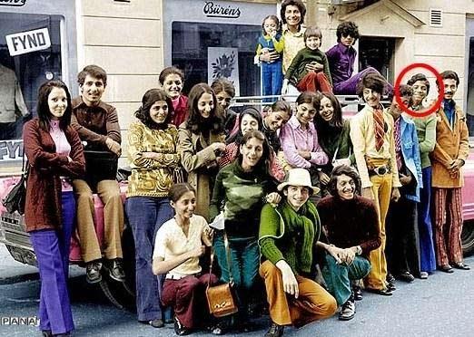 عکس دوران دانشجویی « بن لادن »