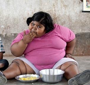 چاقترین دختر جهان