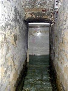 تصاویری از طواف آب گرد قبر حضرت ابولفضل (ع)..ای آب با چه رویی...