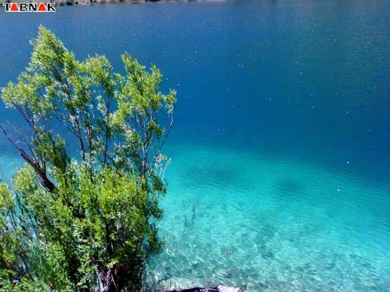 %عكس های زیبا از دریاچه گهر لرستان