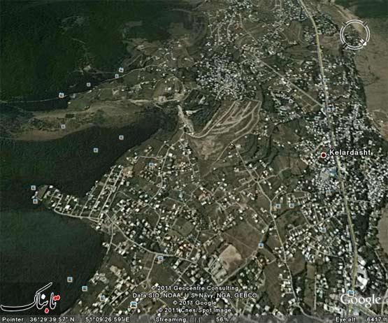 تخریب جنگلهای کلاردشت
