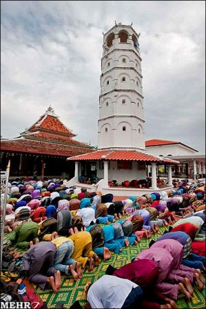 نماز عید فطر در کشور های اسلامی