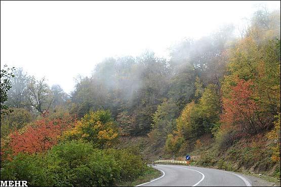 Image result for عکس جاده گرگان شاهرود (توسکستان)