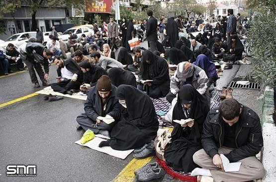 تصاویر: دعاي پر فيض عرفه در تهران