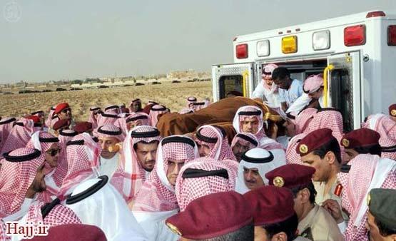 عکس/ خاکسپاری ولیعهد عربستان