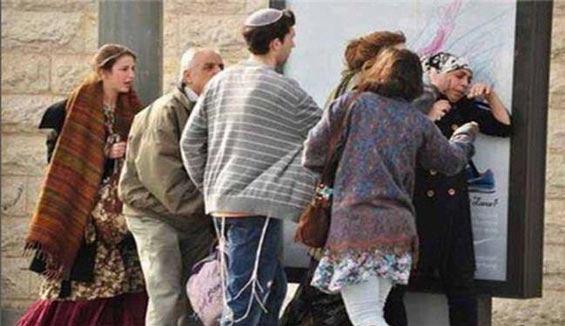 کشف حجاب زن فلسطینی