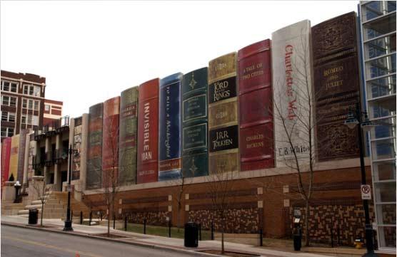 نمای بیرونی کتابخانه