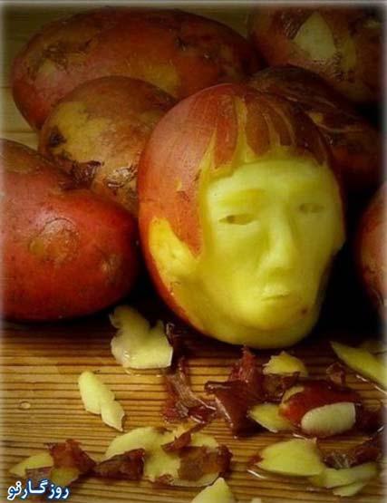 www.ebhamlinks.com | کارهای خنده دار بر روی مواد غذایی