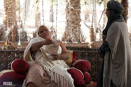 عکس حضرت ابوالفضل در فیلم رستاخیز