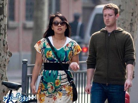 تصاویر دیدنی از مدیر فیس بوک و همسرش قبل و بعد از ازدواج
