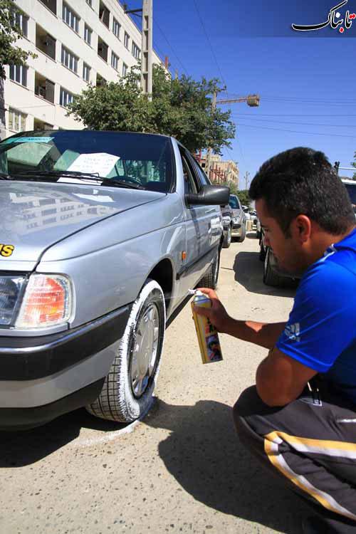 تصاویر جمعه بازار خودرو تهران
