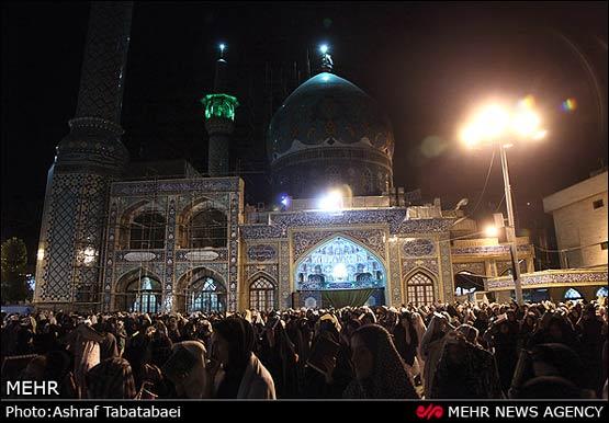180760 314 مراسم احیای شب نوزدهم ماه رمضان + عکس ها
