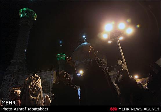 180762 191 مراسم احیای شب نوزدهم ماه رمضان + عکس ها
