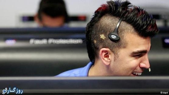 پسر ایرانی که با مدل موهایش در امریکا محبوب شد! + عکس
