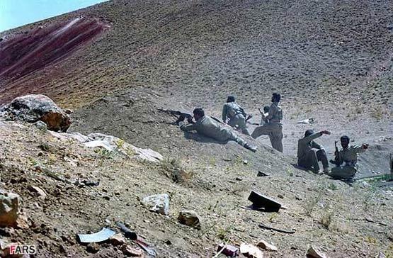 تصاویر منتشر نشده از عملیات «مرصاد»