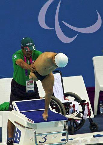 عکسی تکان دهنده و عبرت اموز از پارا المپیک