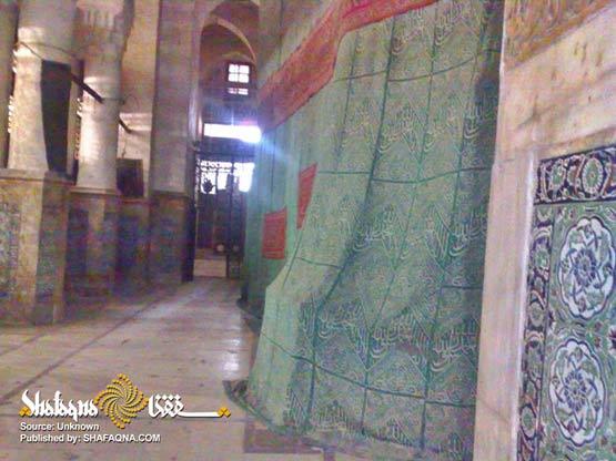 تصاویر استثنایی از داخل مرقد مطهر پیامبر خدا حضرت محمد مصطفی (ص)