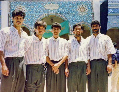 بازیکنان تیم ملی فوتبال در سال 1994