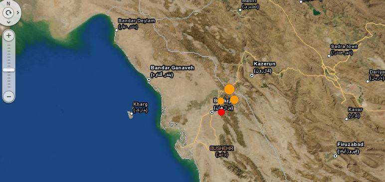 آخرین آمار جان باختگان و مجروحان زلزله برازجان
