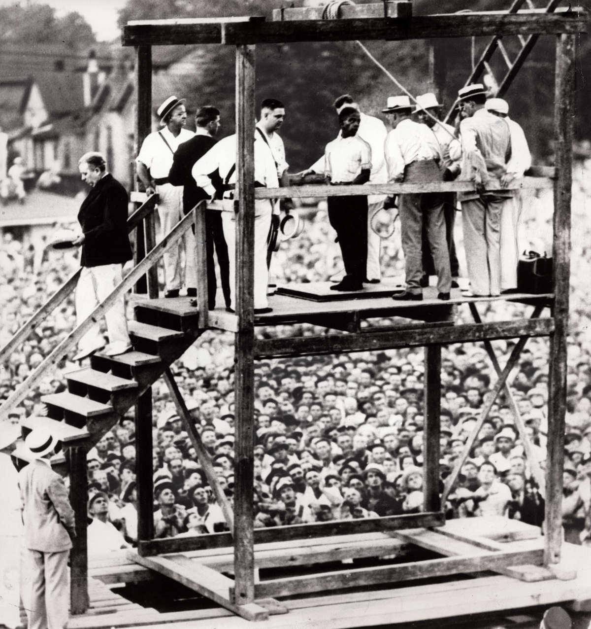 آخرین «اعدام در ملاء عام» در آمریکا