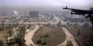 نتیجه تصویری برای منطقه سبز بغداد + تابناک