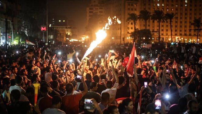 نتیجه تصویری برای تظاهرات مصر + تابناک