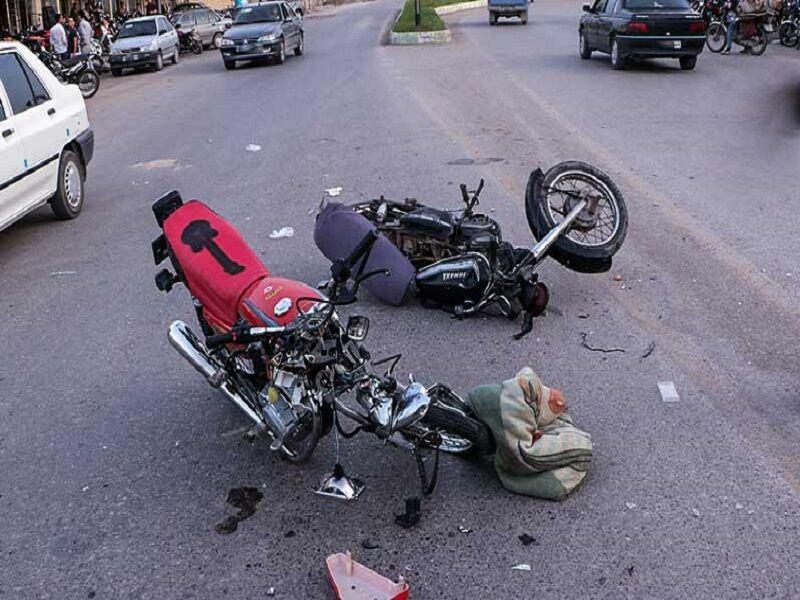 تصادف خونین موتورسیکلت ها در لار - تابناک | TABNAK