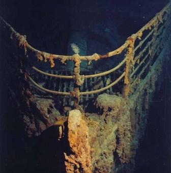 تایتانیک در اعماق دریا در سال 1999 P.P. Shirshov Institute of Oceanology