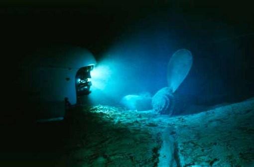 تایتانیک در اعماق دریا در سال 2008 RMS Titanic, Inc., via Associated Press